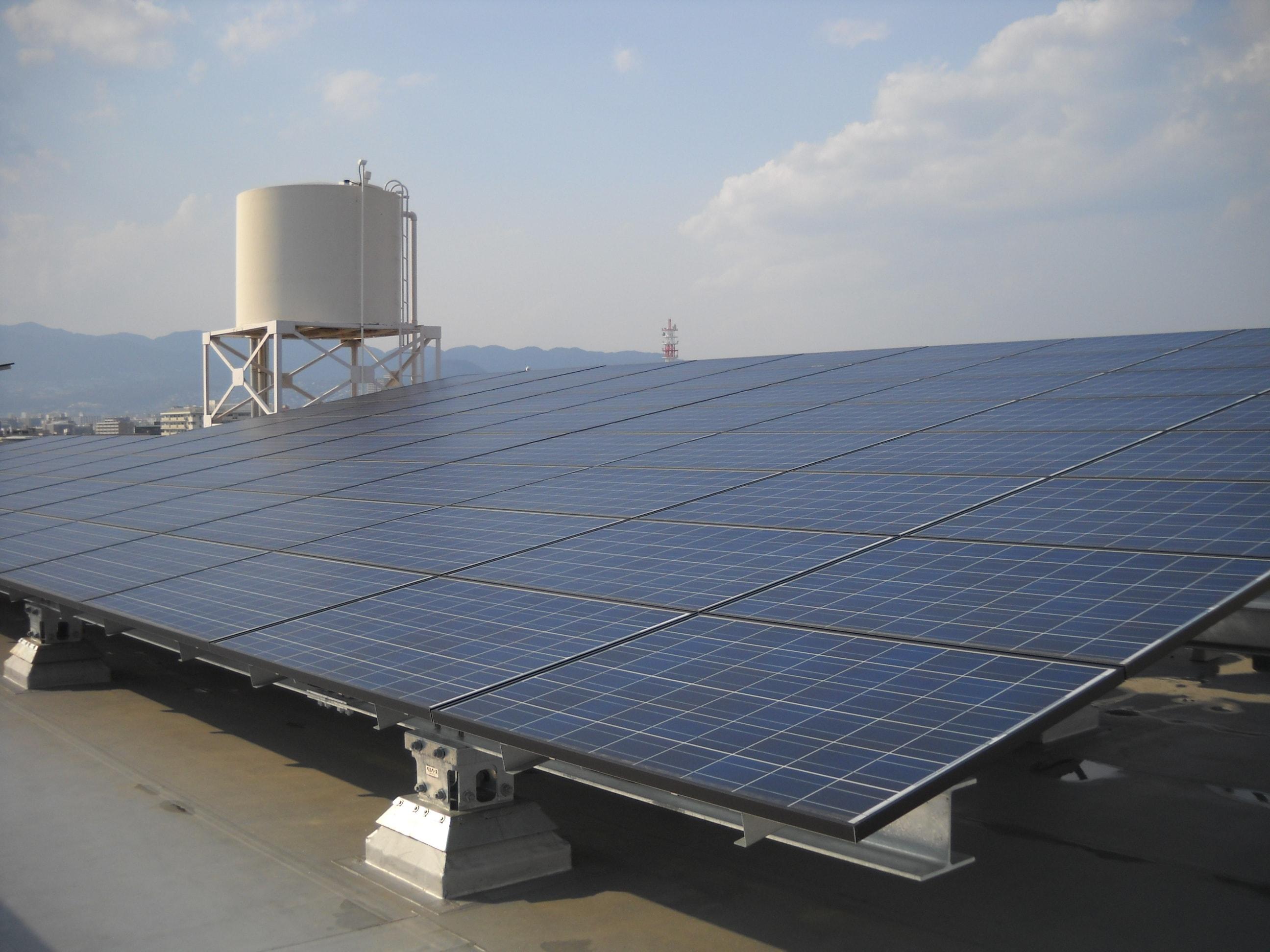 県立高校太陽光発電システム